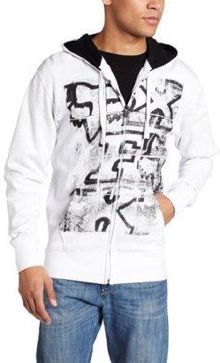 Fox Men's Problem Unsolved Zip Front Fleece Hoodie