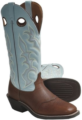 "Laredo Rome Broad Buckaroo Cowboy Boots - 15"", Square Toe (For Men)"