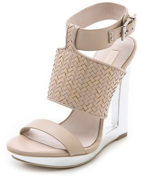 BCBGMAXAZRIA Mave Open Wedge Sandals