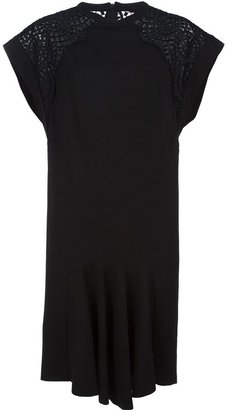Stella McCartney filigree insert dress