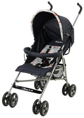 Dream On Me The Family Collection Lightweight Stroller -Orange