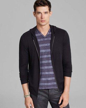 John Varvatos Collection Zip Hoodie Sweater