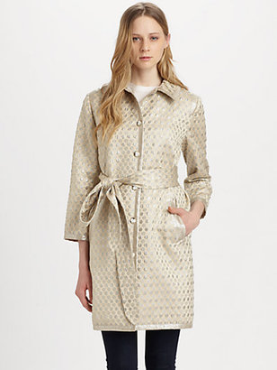 Marc by Marc Jacobs Romy Dot Jacquard Coat