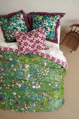 Anthropologie Rosemoor Duvet