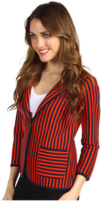 Juicy Couture S.S Juicy Vertical Striped Blazer