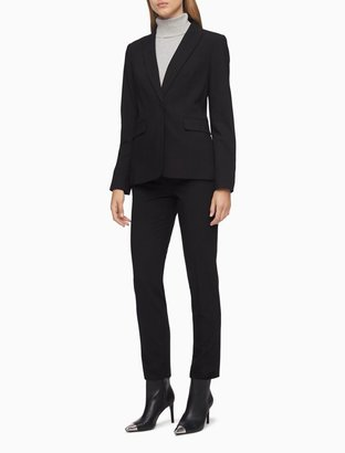 Calvin Klein Slim Fit Black Suit Pants