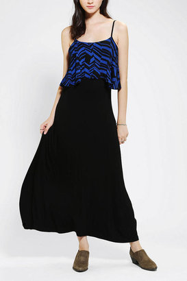 Urban Outfitters Staring At Stars Knit Layered Maxi Dress