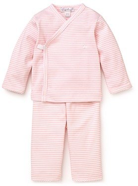 Kissy Kissy Girls' Wrap-Front Shirt & Pants Take Me Home Set - Baby