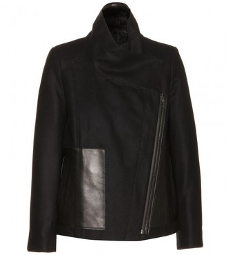 Helmut Lang Void reversible wool-blend jacket