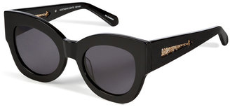 Karen Walker Northern Lights Sunglasses in Black