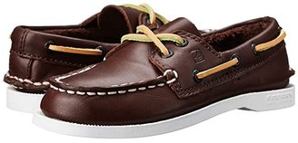 Sperry Kids Authentic Original (Toddler/Little Kid/Big Kid) (Brown) Kids Shoes