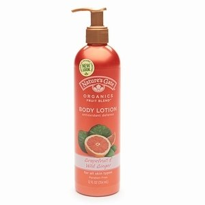 Nature's Gate Organics Fruit Blends Lotion Antioxidant Defense
