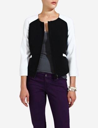 The Limited Raglan-Sleeve Varsity Jacket