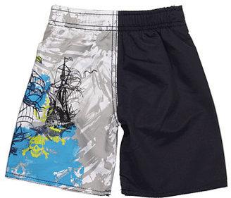 Charlie Rocket Pirate Swim Short (Toddler/Little Kids/Big Kids)