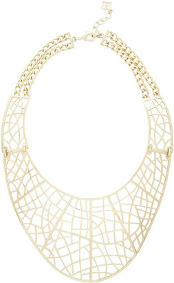 Filigree-Plate Necklace