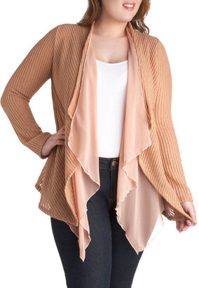500 Days of Gossamer Cardigan in Plus Size