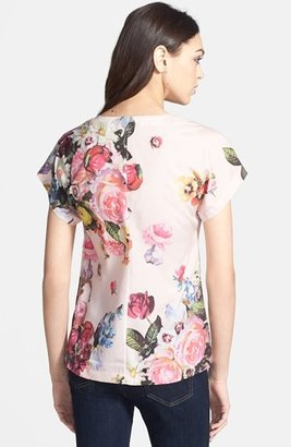Ted Baker 'Nude Oil Painting' Print Top