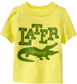Old Navy Later Gator Graphic Tees for Baby