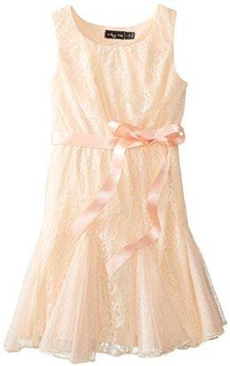 Ruby Rox Big Girls' Lace Sheath Dress