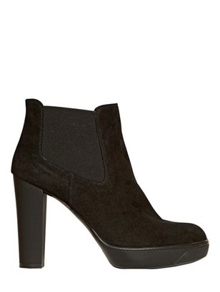 Hogan 110mm Opti Suede Ankle Boots