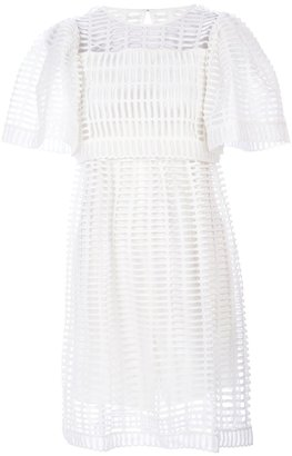 Chloé openwork dress