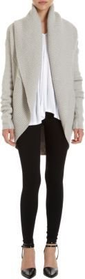 Vince Relaxed Circle Cardigan