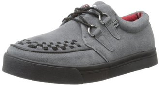 T.U.K. Unisex A7691 Fashion Creeper Sneaker,Grey,10 M US