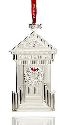 Waterford 2013 Bless This Home Christmas Ornament