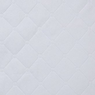 """Carter's Keep-Me-Dry Waterproof Crib Pads-White Quilted Pad, 2-Pack (18"""" X 27"""")"""