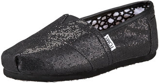 Toms Glitter Slip-On, Black
