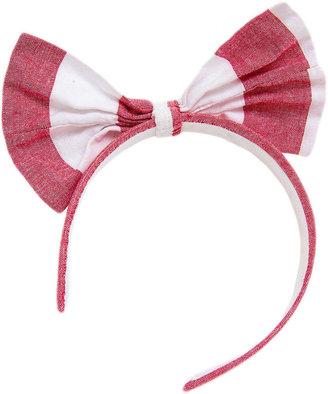 American Apparel Wide Stripe Bow Headband