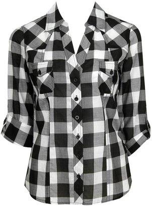 Forever 21 3Q Plaid Shirt
