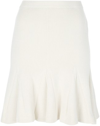 Sonia Rykiel Sonia By ribbed pleat skirt