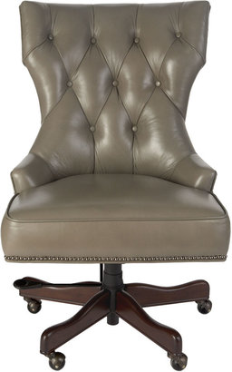 "Horchow ""Conroy"" Leather Office Chair"
