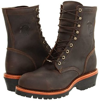Chippewa Apache Steel Toe Logger (Chocolate) Men's Boots