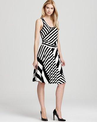 DKNY Racerback Stripe Tank Dress