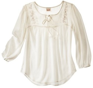 Mossimo Juniors 3/4 Sleeve Top - Assorted Colors
