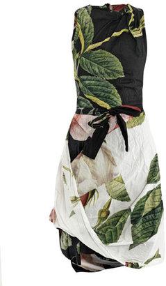 Vivienne Westwood Rose puzzle-print dress