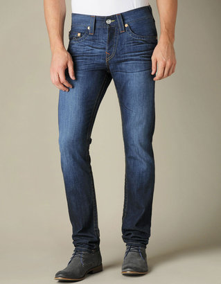 True Religion Mens Rocco Slim Jean