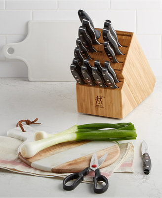 Zwilling J.A. Henckels Twin Signature 19 Piece Cutlery Set