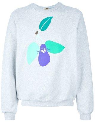 Peter Jensen pear rabbit print jumper