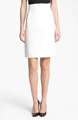 Jil Sander Gabardine Skirt