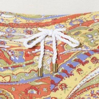 Ralph Lauren Wide-Leg Paisley Pant