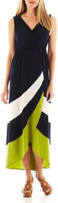 Studio 1 Colorblock Maxi Dress