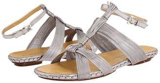 Jean-Michel Cazabat Fabia (Silver Metallic Kid Skin) - Footwear