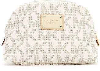 MICHAEL Michael Kors Jet Set Monogram Large Cosmetic Case, Vanilla