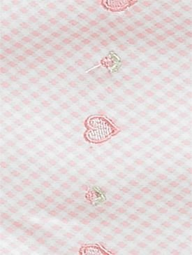Kissy Kissy Infant's Hooded Towel with Pink Hearts