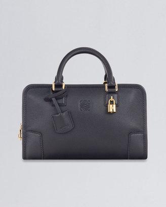 Loewe Amazona 23 Leather Crossbody Bag, Black