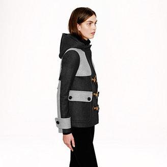 J.Crew Colorblock duffle coat