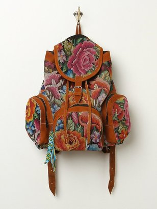Free People Hiptipico Daydream Floral Backpack